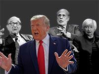 נגידי הפד לשעבר נגד טראמפ / צילום: רויטרס