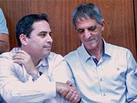 חימי (מימין) ובכר בימים טובים יותר / צילום: שלומי יוסף