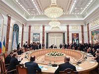דיונים לפתרון המשבר באוקראינה, 2015 / צילום: רויטרס