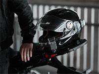 """מערכת AR ראשונה מסוגה של חברת WHYRE לאופנועים / צילום: יח""""צ"""