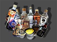 בקבוקי אלכוהול מזוייפים / אילוסטרציה: טלי בוגדנובסקי