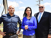 איילת שקד ונפתלי בנט בגוש עציון / צילום: מפלגת ימינה