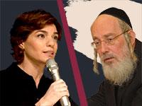 ישראל אייכלר מול תמר זנדברג / צילומים: איל יצהר, עיבוד: טלי בוגדנובסקי