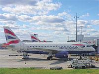 מטוס של בריטיש איירוויז בשדה תעופה / צילום: shutterstock, שאטרסטוק
