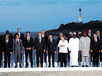 משתתפי פסגת ה־G7 בביאריץ / צילום: Philippe Wojazer, רויטרס