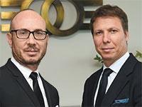 מיכאל (מימין) ודניאל זלקינד, בעלי חברת אלקו  / צילום: ישראל הדרי