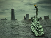 ניו יורק בדרך לטבוע / אילוסטרציה: shutterstock, שאטרסטוק