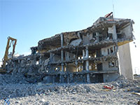 בנין הרוס בראשון לציון / צילום: איל יצהר, גלובס