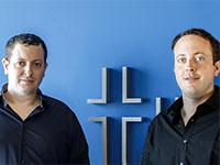 מייסדי טריגו דניאל גבאי מימין ומיכאל גבאי משמאל / צילום: עמר הכהן