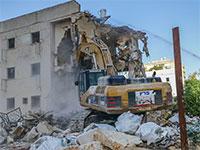 """הריסת מתחם פרויקט הפינוי בינוי """"קדמת צהלה"""" של חברת אפגד / צילום: אוראל כהן"""