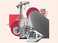 התחדשות עירונית / הדמיה: אפרת לוי, גלובס
