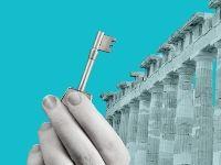 """השקעות נדל""""ן ביוון, כסף בקיר / צילום: אפרת לוי, גלובס"""
