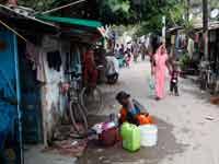 שכונת עוני בהודו/ צילום:: רויטרס, Anindito Mukherjee