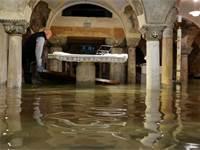 ונציה לאחר השטפון / צילום: מנואל סילבסטרי, רויטרס