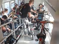 אופניים ברכבת ישראל / צילום: רכבת ישראל