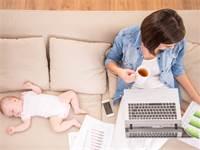 הורים עובדים / צילום: שאטרסטוק