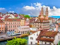 העיר העתיקה בציריך. נתונה תחת שימור קפדני/צילום: Shutterstock/א.ס.א.פ קרייטיב