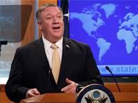 """מייק פומפיאו, מזכיר המדינה בארה""""ב / צילום: יארה נארדי, רויטרס"""