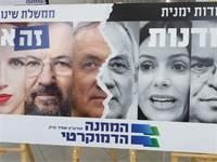 קמפיין הבחירות של המחנה הדמקורטי / צילום: