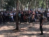 שביתת עובדי סלקום / צילום: תמונה פרטית