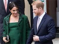 מייגן והארי מעט לפני הלידה / צילום: Reuters, WENN.com