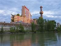 מתקן הפסולת לאנרגיה Spittelau בוינה / צילום: Wiener Wildnis