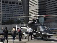 "Uber Copter - שירות המסוק של אובר / צילום: יח""צ"