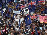 הפגנת נגד הברקזיט בלונדון / צילום: Simon Dawson, רויטרס