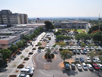 אזור בית החולים שיבא בתל השומר. / צילום: תמר מצפי