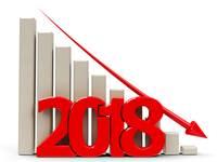 2018, שנה של ירידות / צילום: shutterstock
