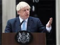 ראש ממשלת בריטניה בוריס ג'ונסון / צילום: Simon Dawson, רויטרס