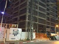 אתר הבנייה ברחוב השחם 8 בפתח תקווה / צילום: הלית ינאי לוזון