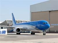 המטוס לראשי המדינה / צילום: אלון רון