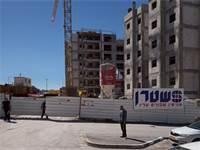 אתר התאונה הבוקר / צילום: הקבוצה למאבק בתאונות בנייה
