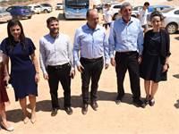 """מסיבת עיתונאים של """"ימינה"""" ביישוב אלקנה / צילום: מפלגת ימינה"""