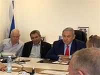 """בנימין נתניהו וזאב אלקין / צילום: קמפיין הליכוד, יח""""צ"""