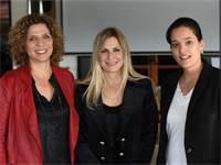 המייסדות של WFF, אירית קאהן, סיון שמרי-דהן ומרב וינריב / צילום: אורן טסלר
