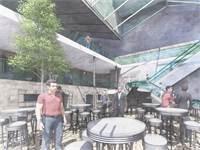 """הדמיה של פרויקט הנדל""""ן שיבנה במרכז ירושלים / צילום: מתי רוזנשטיין אדריכלות"""