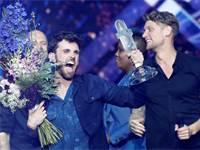 הזוכה באירוויזיון 2019 - דנקן לורנס ההולנדי / צילום:  REUTERS/Ronen Zvulun