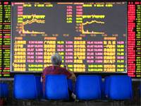 מסכי שוק המניות בשנחאי, סין / צילום: Reuters