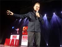 מרטין לינדסטרום / MAD 2019 / צילום: איל יצהר, גלובס