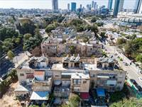 """הבניינים שמתוכננים להיהרס כחלק מהתוכנית / צילום: יח""""צ"""
