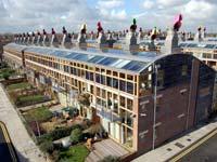 מרכז BedZED בלונדון/ ,BedZED Bioregional-Tom Chance