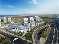 הדמיית הקמפוס החדש של WIX במתחם Blue בתל אביב