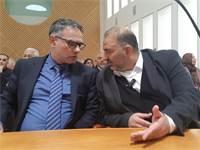 מטאנס שחאדה ומנצור עבאס בדיון בעליון / צילום: פרטי