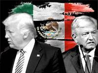 דונלד טראמפ, אנדרס מנואל לופז אוברדור / צילום: מארק ניימן-לע''מ, רויטרס, shutterstock, עיבוד תמונה: