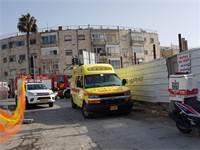 """אזור התאונה בירושלים / צילום: מד""""א"""