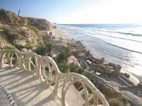 מבט אל חוף סידני עלי/ צילום: יותם יעקובסון