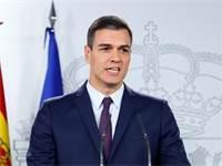 ראש ממשלת ספרד פדרו סנצ'ס מודיע על הקדמת הבחירות / צילום: Juan Medina, רויטרס