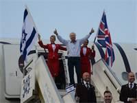 ריצ'רד ברנסון נוחת בישראל / צילום: איל יצהר, גלובס